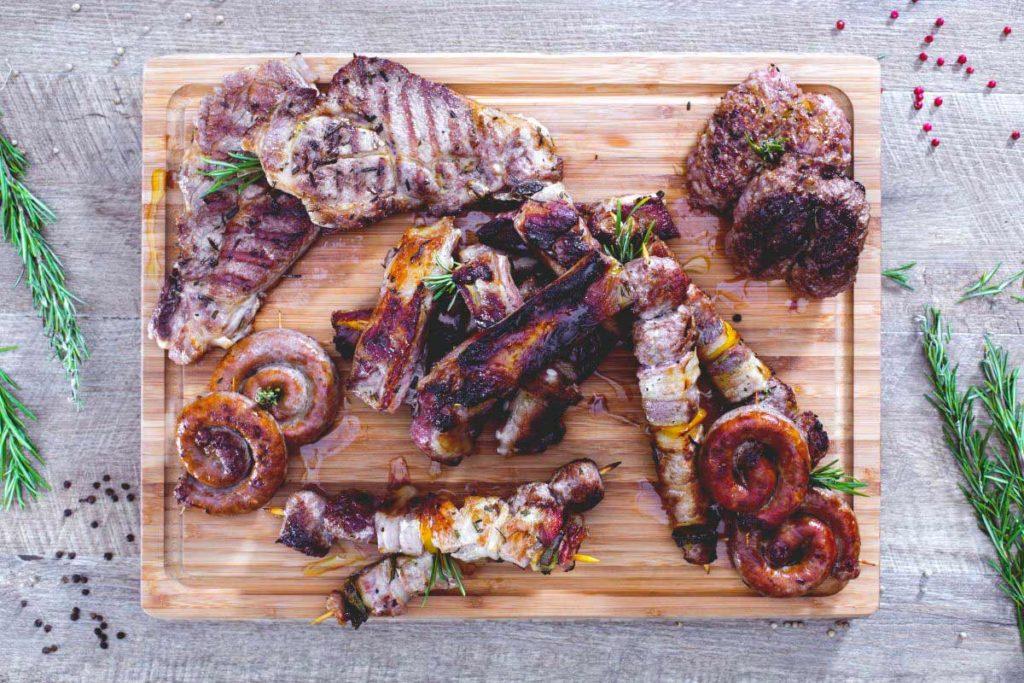 grigliata mista di carne in bistronomia valtellina